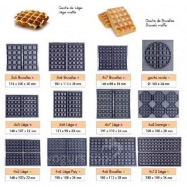 moldes recambios placas gofreras
